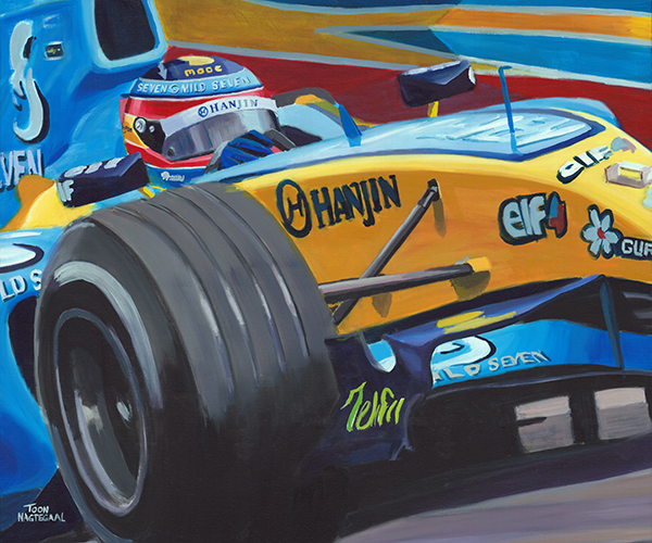 Fernando Alonso Renault R25 2005