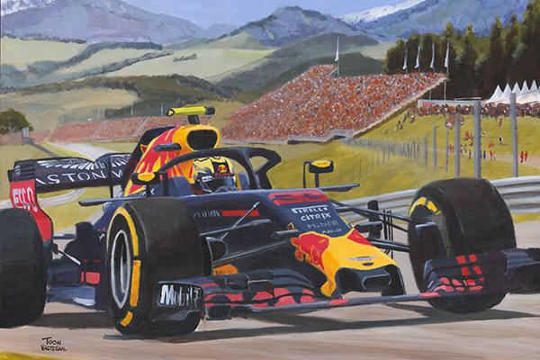 Max Verstappen winnaar GP Oostenrijk 2018