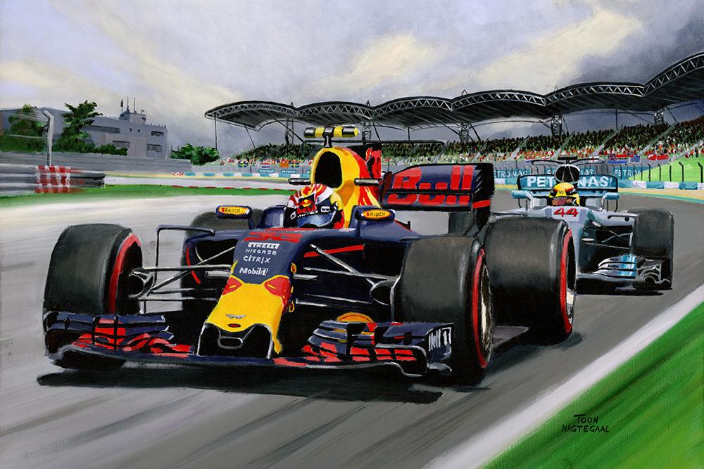 Max Verstappen wint Maleisië 2017