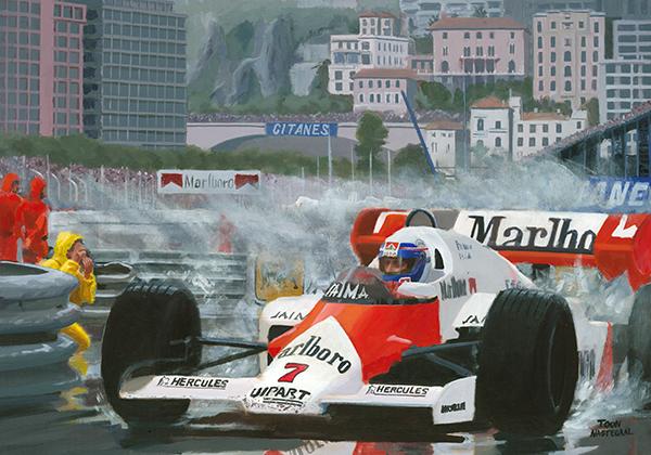 Monaco 1984 Alain Prost McLaren MP4-2