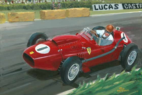 Peter Collins Ferrari 246