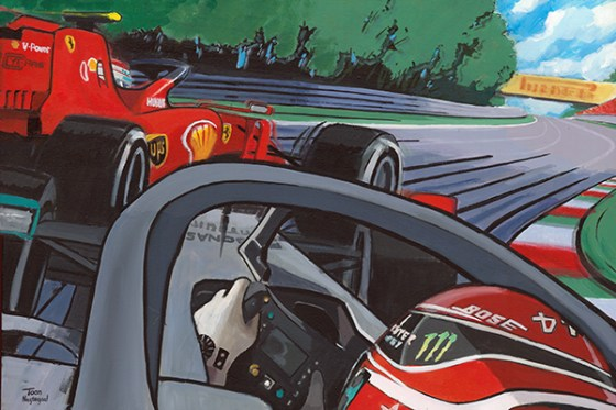Hamilton vs Leclerc, Monza 2019