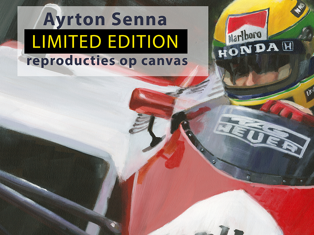 Senna Limited Edition canvas