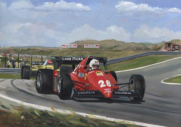 René Arnoux, winnaar GP Zandvoort 1983