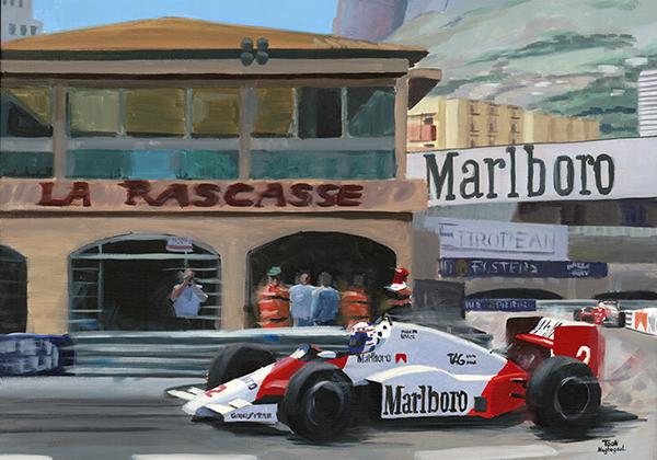 Winnaar GP Monaco 1985: Alain Prost
