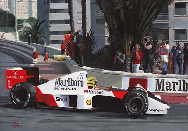 Winnaar GP Monaco 1989: Ayrton Senna