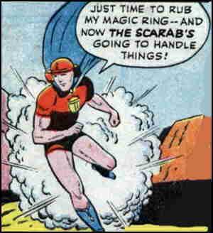 Image result for standard comics scarab