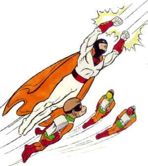 Space Ghost e i suoi aiutanti, da Don Markstein's Toonpedia