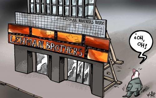 Leman Brothers cartoon