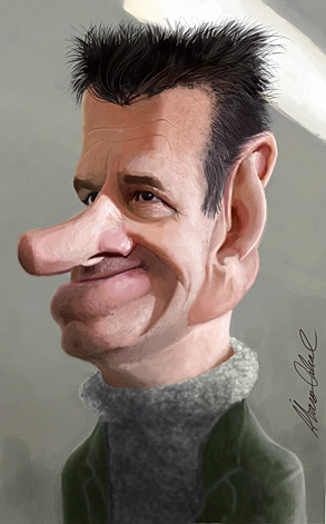 Cartoon: dunga (medium) by alvarocabral tagged caricatura,caricature