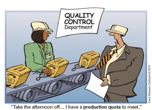 Quality Is Our Business By Carol Simpson Business