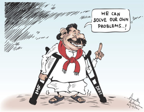 Image result for mahinda rajapaksa cartoon