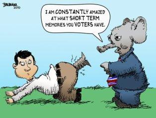 The Modern American Voter By dbaldinger | Politics Cartoon | TOONPOOL