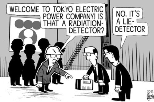 TEPCO, cartoon