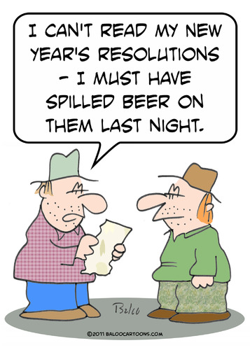 #New Years Resolutions