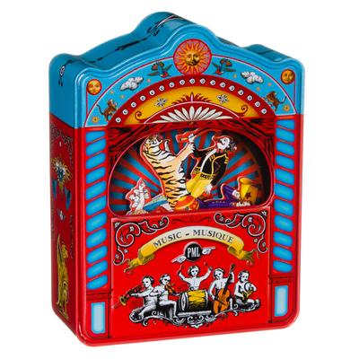 Blikken muziekdoos circustheater