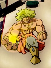 Broly by Ph001Boss