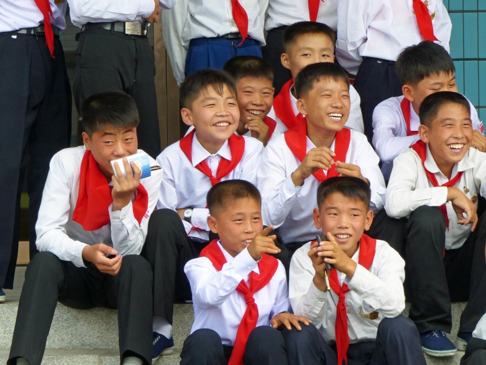 Young Pioneers in North Korea
