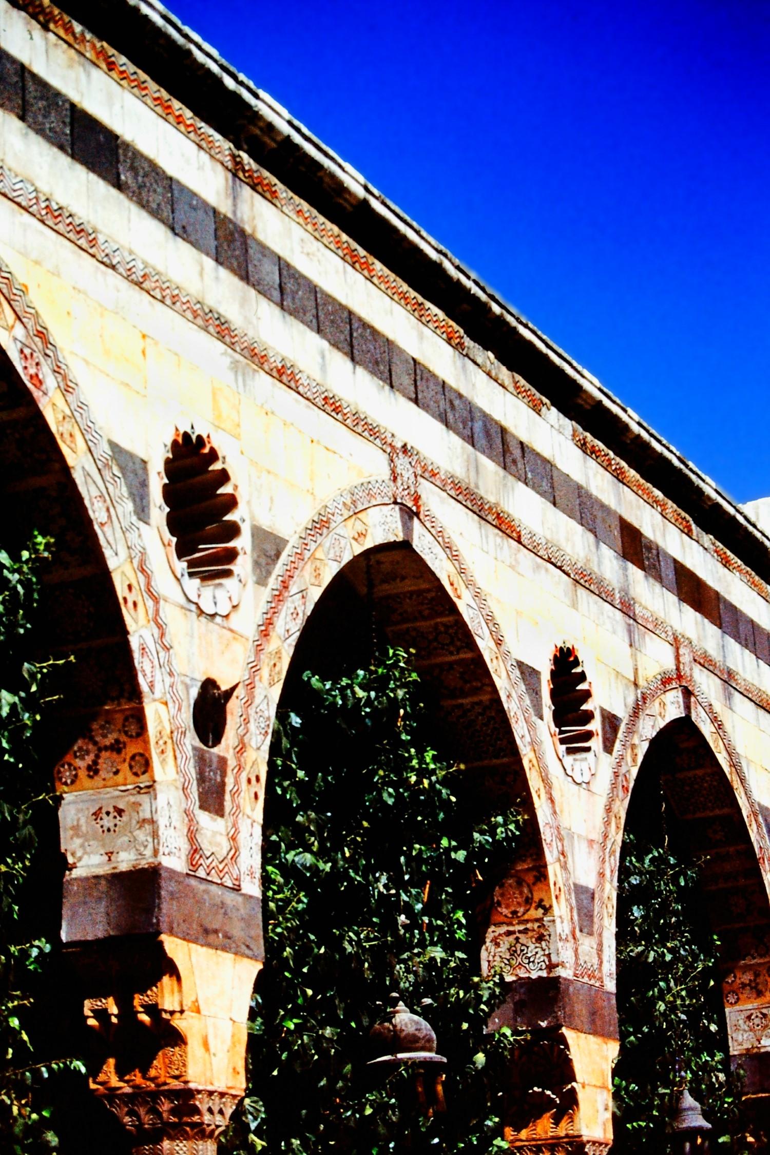 Ornamental stone arches