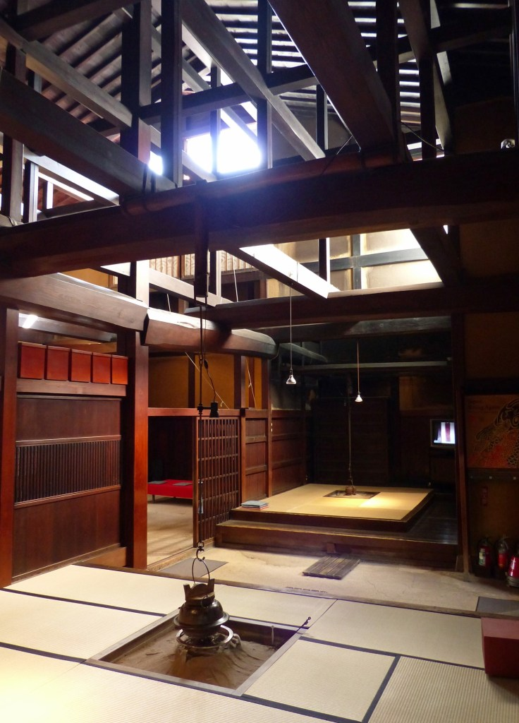 Japanese rooms with fireplaces