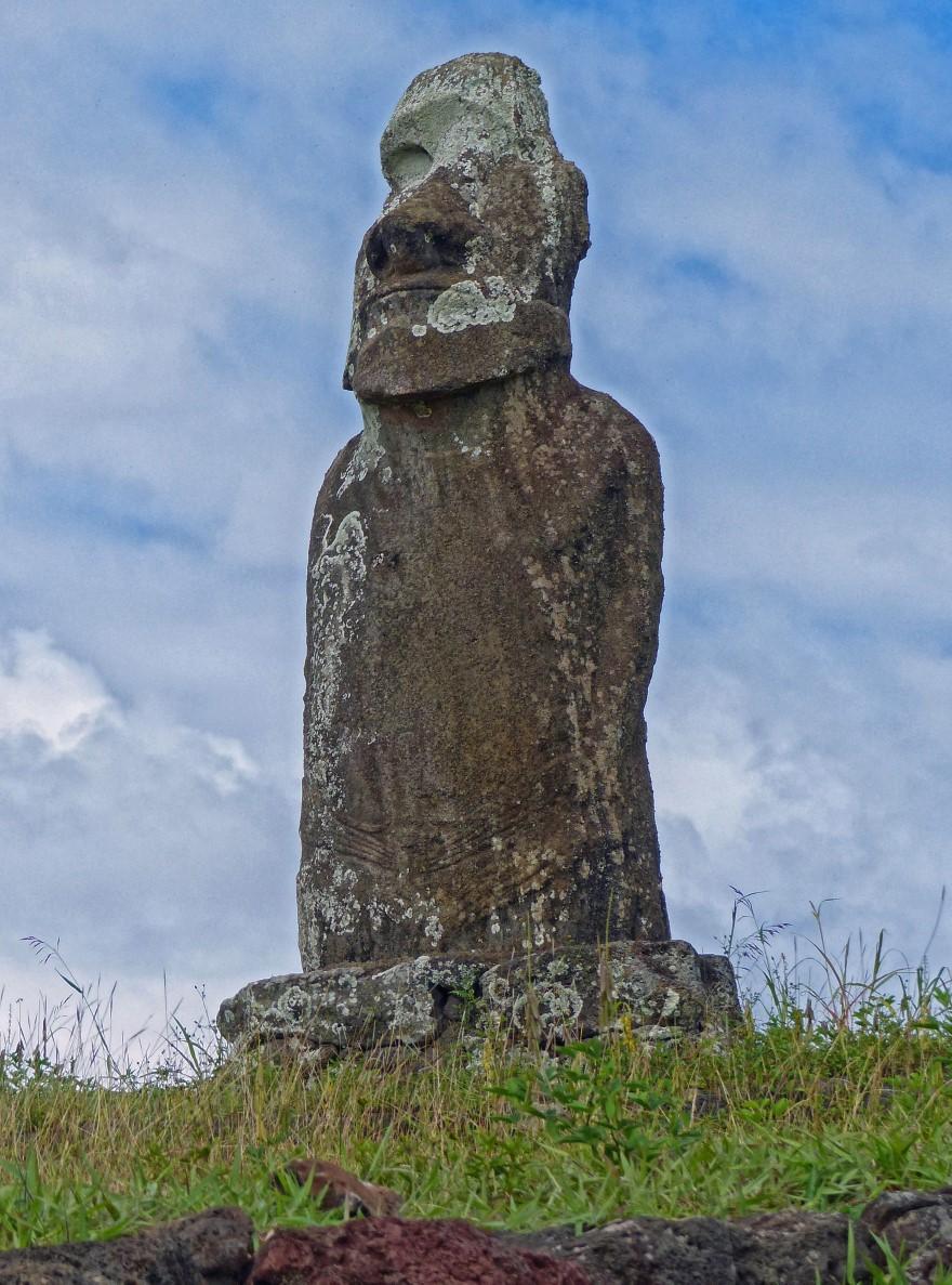 Tall moai