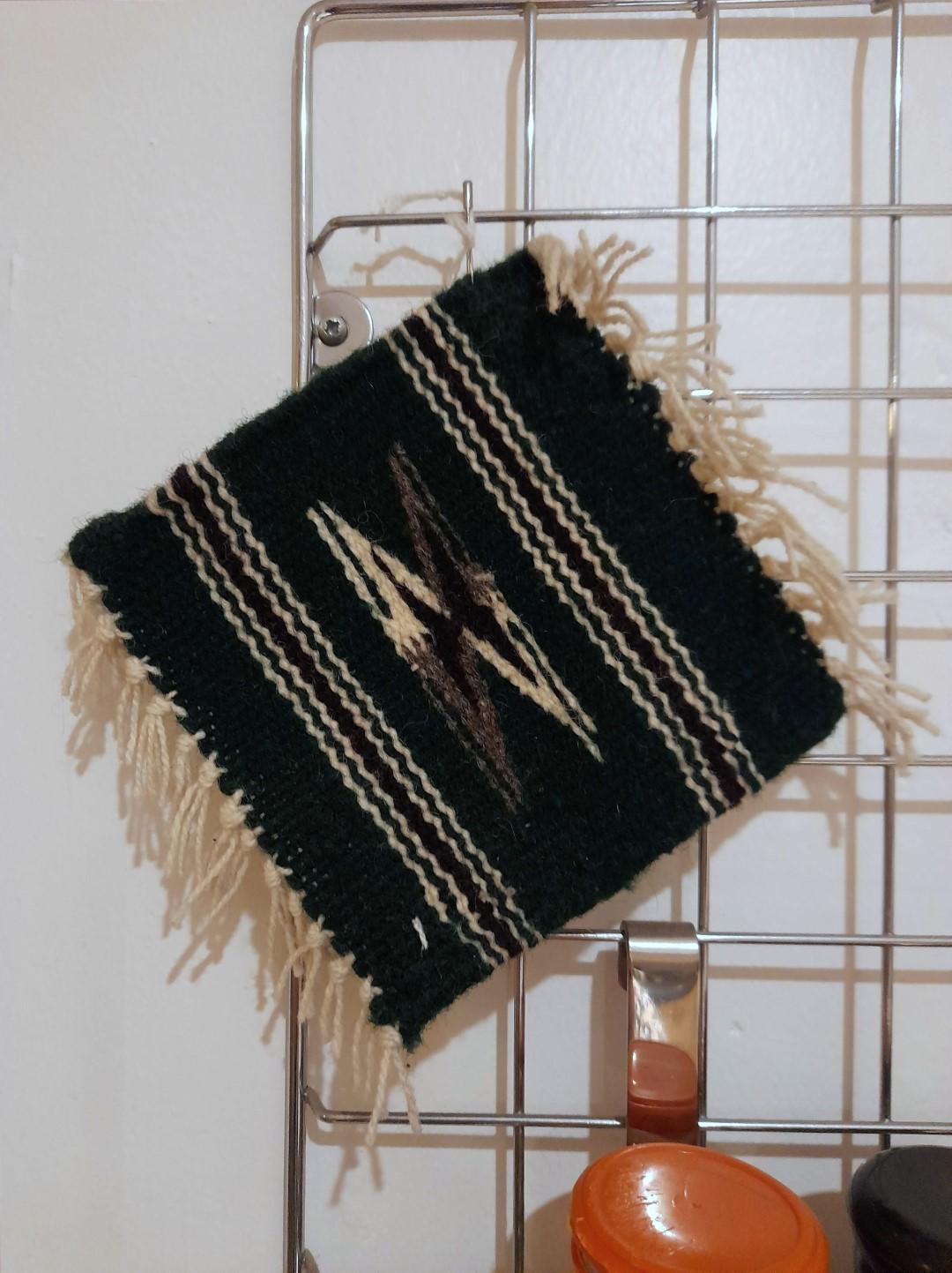 Small woven square