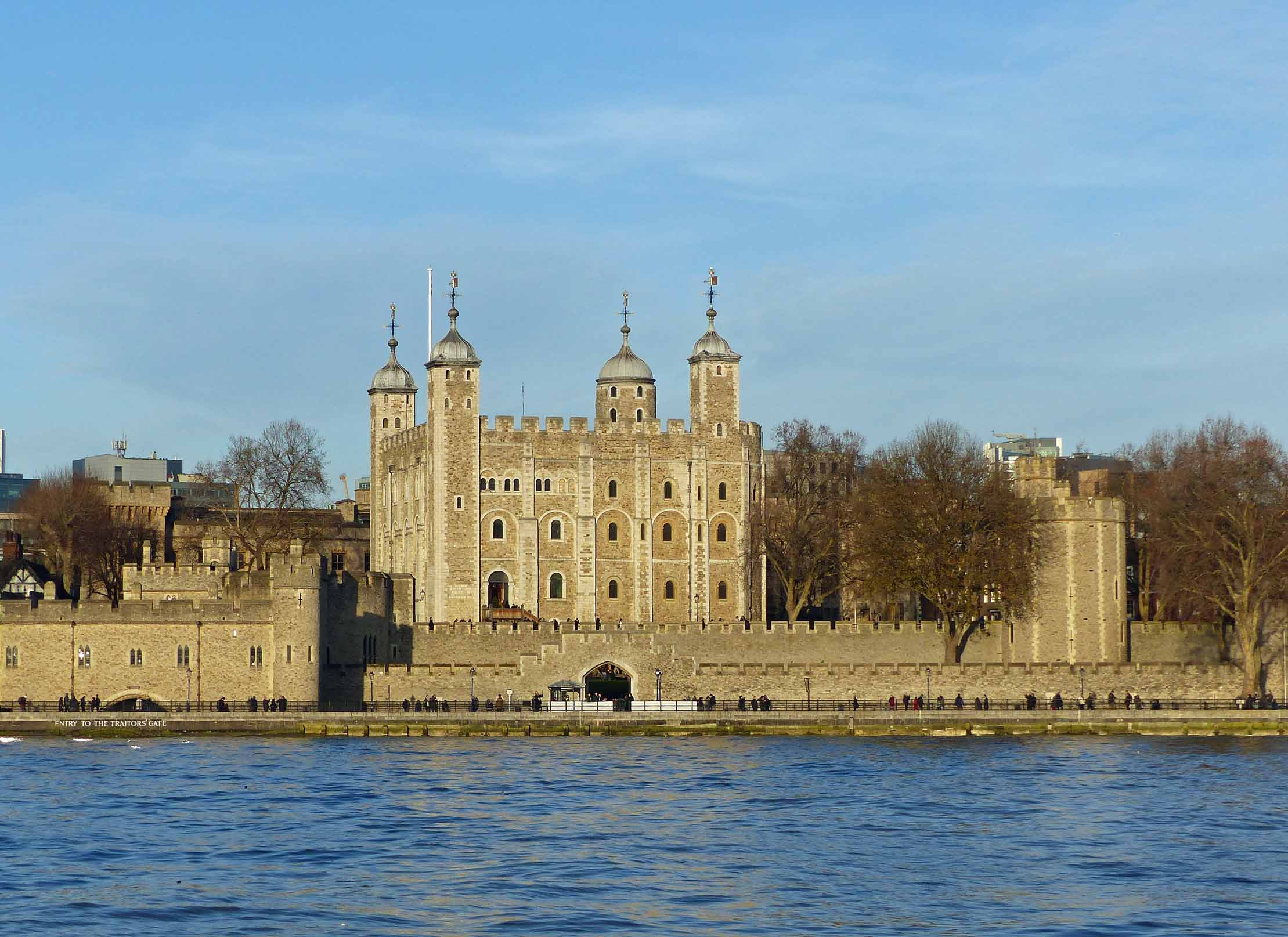 Tower of London with Thames in the foreground