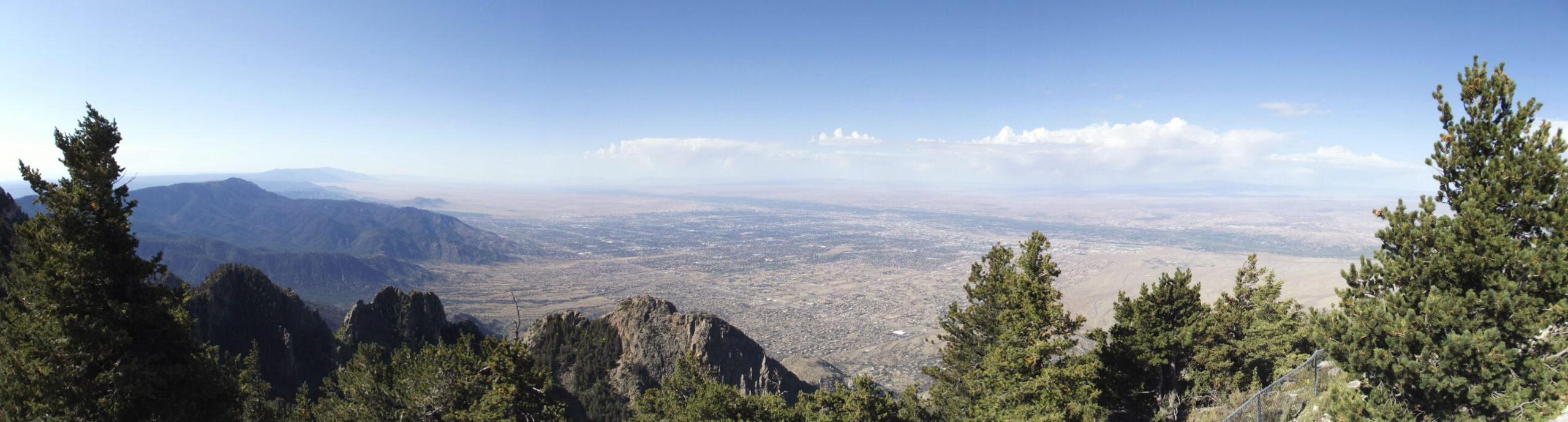 Panoramic shot of valley