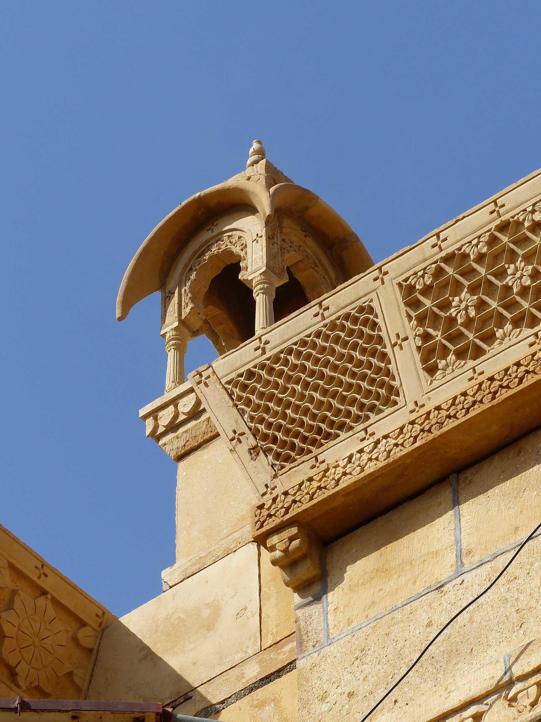 Ornate sandstone building