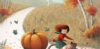 End of the Autumn, Illustration by Ramona Kaulitzki, from Germany.