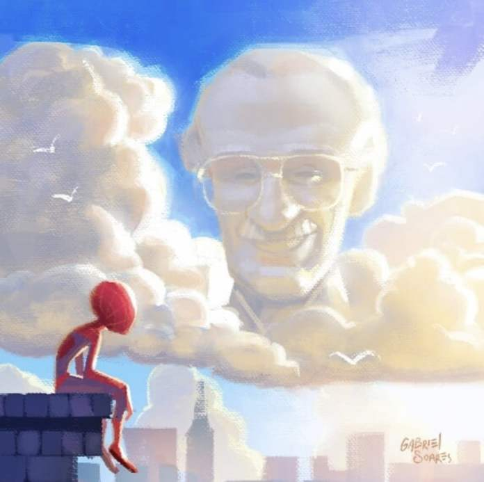 Stan Lee Forever, Cartoon by Gabriel Soares from Brazil