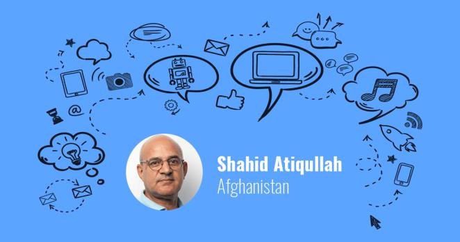 Shahid Atiqullah from Afghanistan