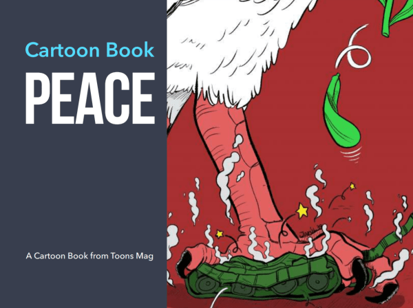 Peace a Cartoon Book