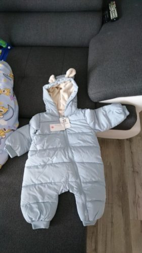 Overalls, autumn Warm baby jumpsuit photo review