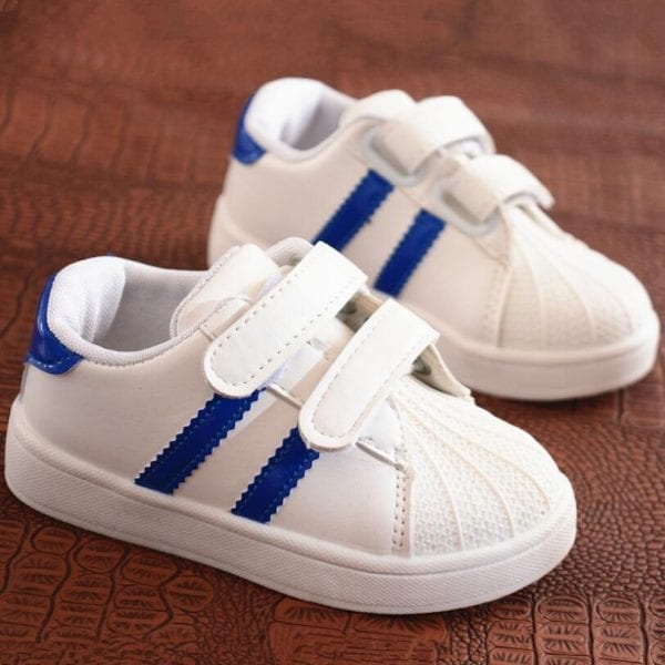 Children Shoes Girls Boys Sport Shoes Antislip Soft Bottom Kids Baby Sneaker Casual Flat Sneakers white Shoes size 21-30 1