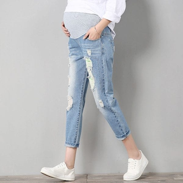 Jeans Maternity Pants For Pregnant Women