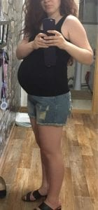 2018 Maternity Shorts For Pregnant Women photo review
