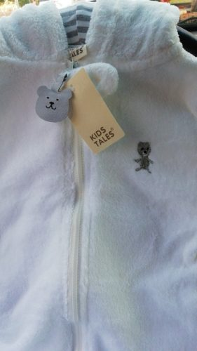 Winter Child style children's fleece overalls photo review