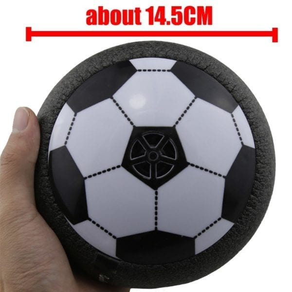 Popular Hover Ball LED Light Flashing Air Power Soccer Ball Disc Indoor Football Toy Multi-surface Hovering And Gliding Toys 5
