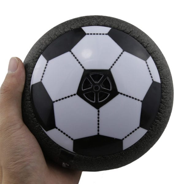 Popular Hover Ball LED Light Flashing Air Power Soccer Ball Disc Indoor Football Toy Multi-surface Hovering And Gliding Toys 3