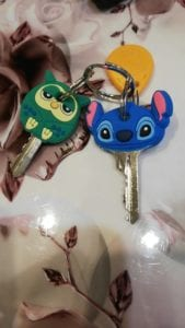 Cartoon Anime Cute Key Cover Cap Silicone photo review