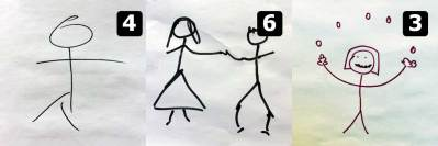Stickmen that were wrong but now adjusted