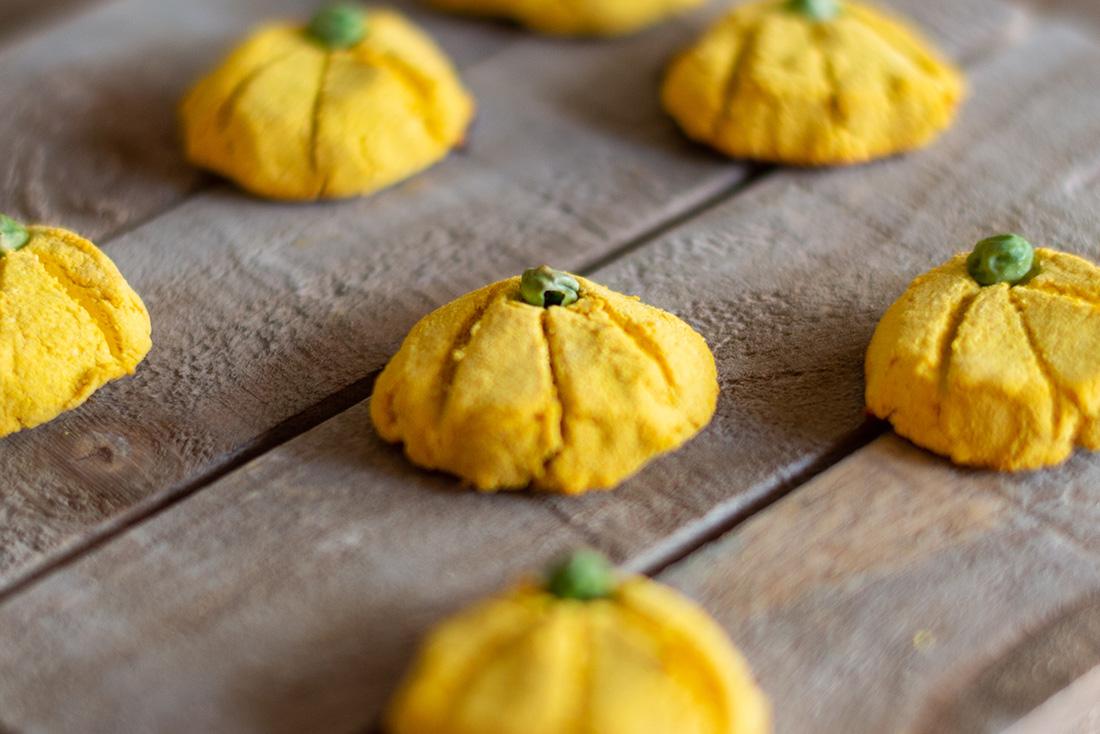homemade dog treats - pumpkin cookies
