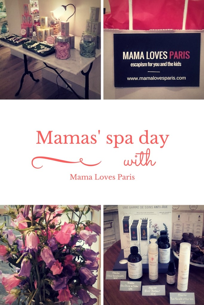 Mamas' spa day with Mama Loves Paris