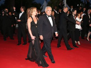 Only Lovers Left Alive? DSK and lady companion stroll the red carpet at Cannes