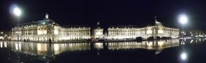 Infinitely Alluring:  Place de la Bourse by night