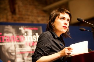 Surprise Omission: Véronique Ovaldé reading in Dublin in 2011 at the Franco-Irish Literary Festival
