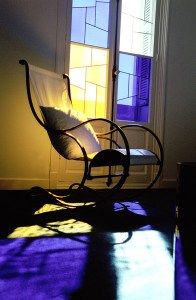 Matisse-like morning light: Le Gac's room at the Windsor