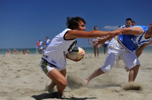 Rugby Country: 13-man rugby on the beach is popular in Canet, which is only 12km from Perpignan.