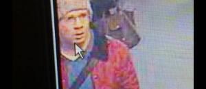 Still from security camera footage of Abdelhakim Dekhar